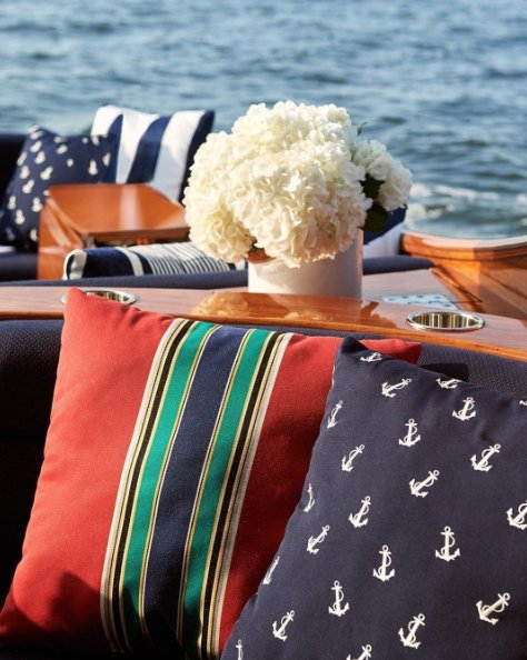 Anchors and stripes from the #RLHome outdoor collection enliven above-deck-decor. https://t.co/3Vpmz7vle7