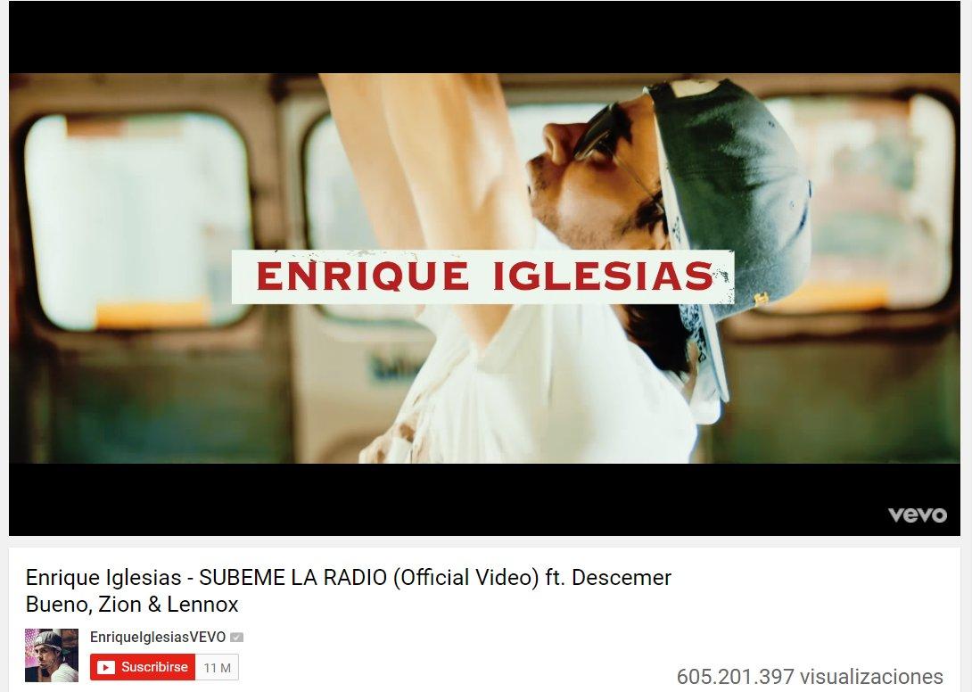 Happy week watching #SúbemeLaRadio with @enriqueiglesias @Descemer_Bueno & @zionylennoxpr https://t.co/Zru9SaK1w1 https://t.co/hYnHpvvs1Y