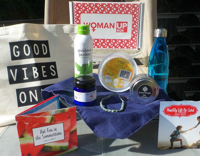 Introducing Woman Up Box Subscription Box