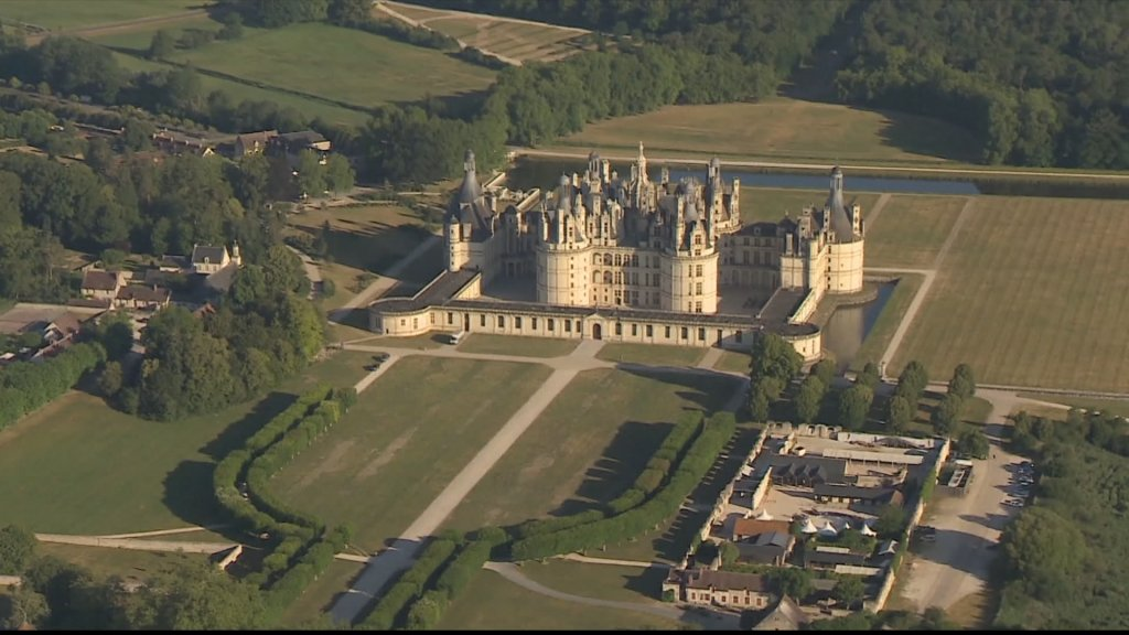 France's iconic Chateau de Chambord gets a makeover