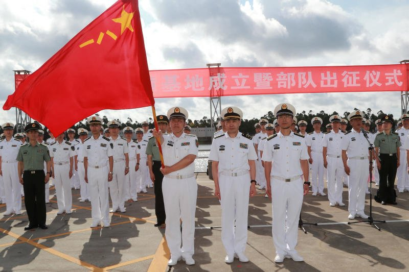 China formally opens first overseas military base in Djibouti