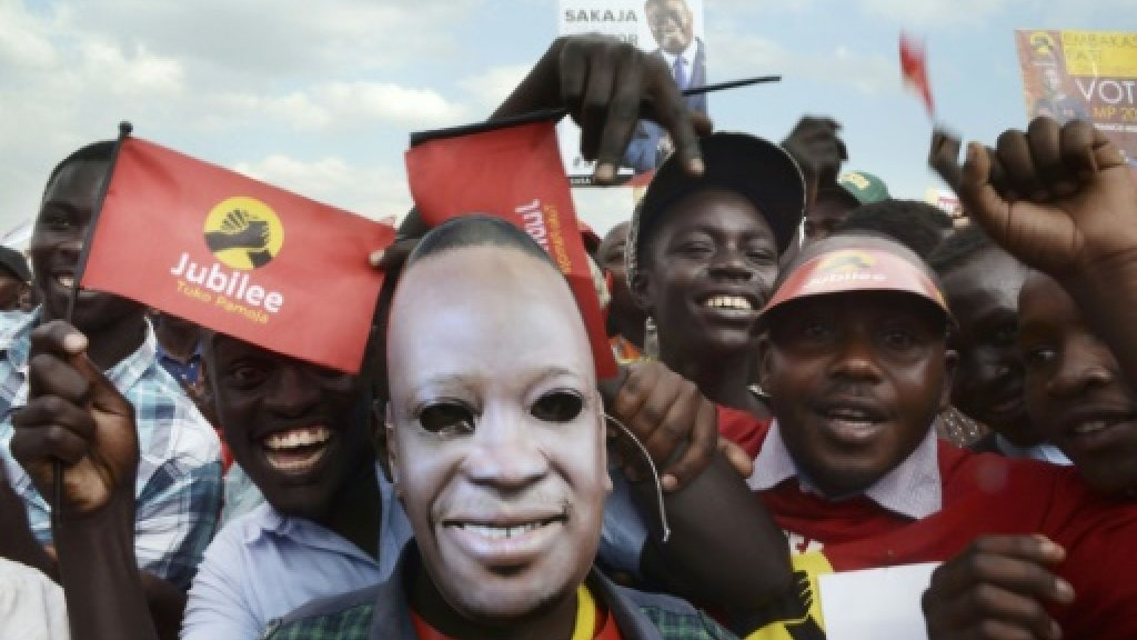Tensions rise as Kenya poll campaign enters final stretch