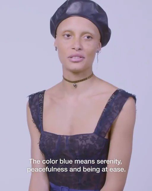 See our Dior models on set for our latest campaign, explaining what blue means to them. #DiorAW17 https://t.co/ek4b1Fa58P