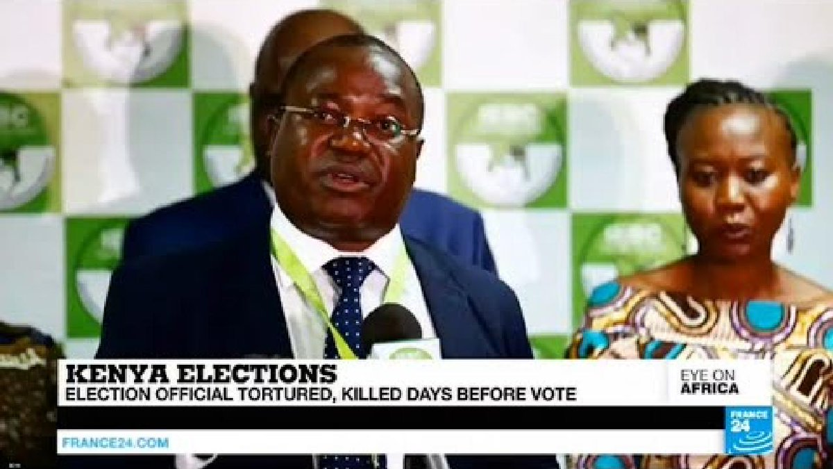 ?? The man behind Kenya's new electronic voting system found dead