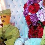 Malaysia: 'Newly-weds' don ski masks in bizarre wedding photo shoot