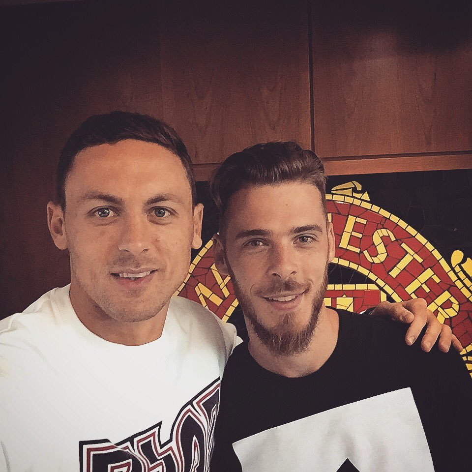 Welcome to the @ManUtd family and happy b'day Nemanja Matic! �� https://t.co/0fFmbA1Ueu