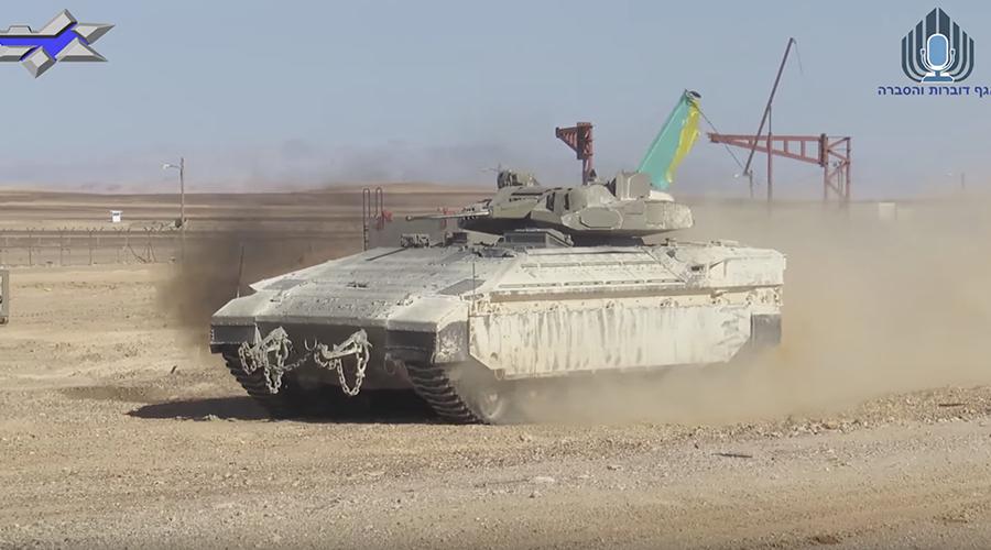 Israeli military unveils new version of 'Namer' APC with urban warfare turret (VIDEO)