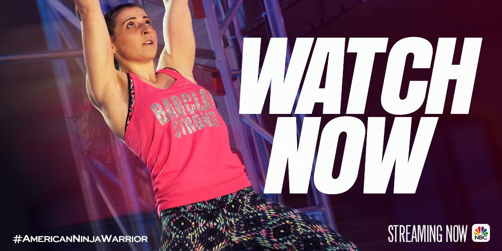 Don't miss a single run! Watch last night's #AmericanNinjaWarrior now on the @NBC App. https://t.co/Q1oT6WuRrG https://t.co/6joe3mQkX9