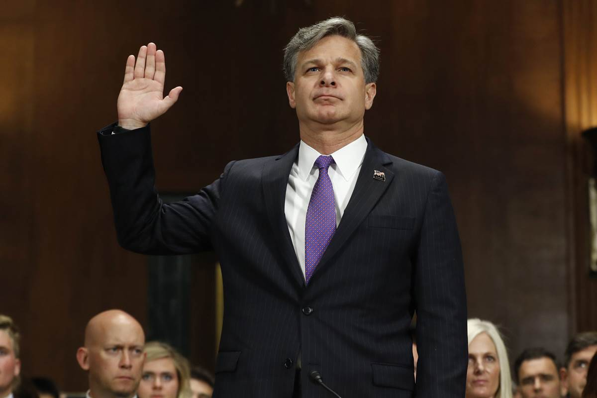 Christopher Wray headed toward confirmation as FBI director