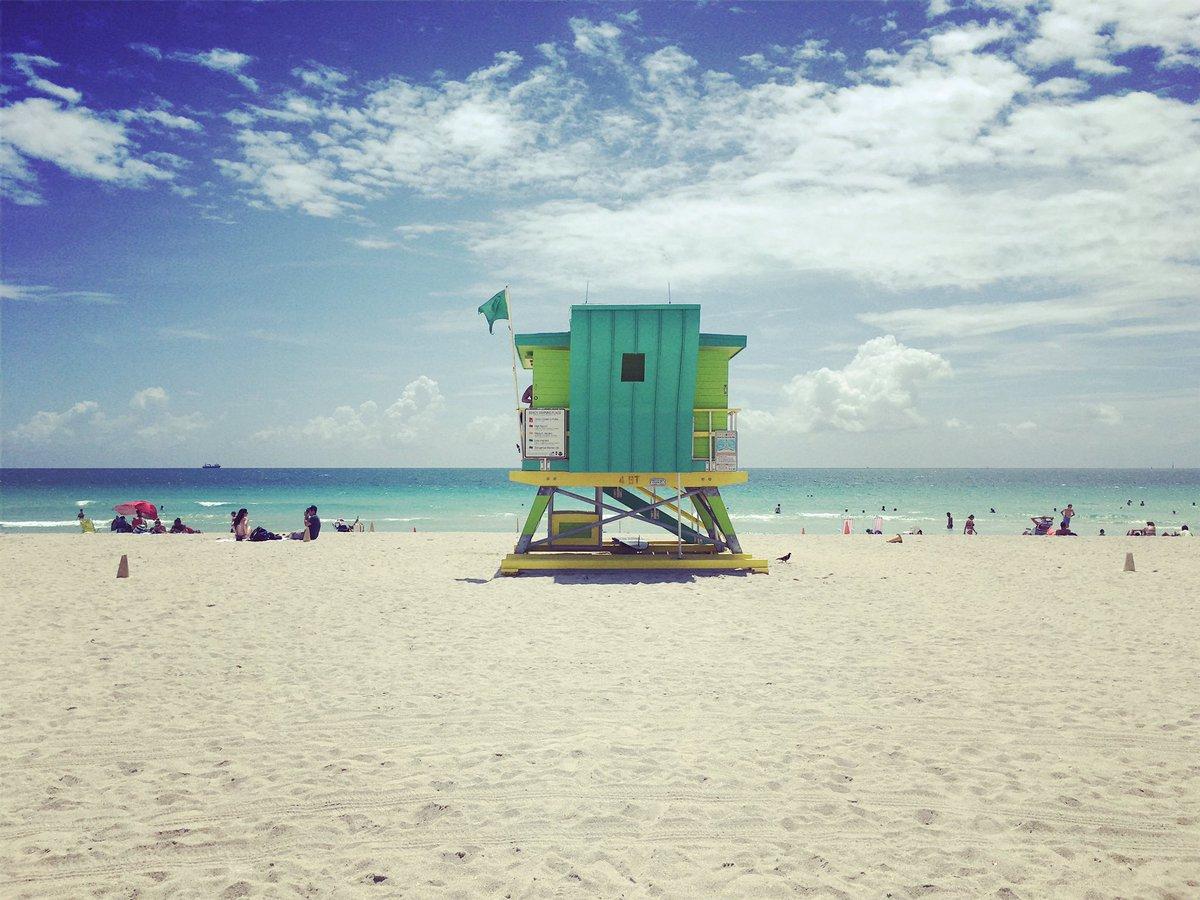 Siamo proprio sicuri di voler tornare? #SouthBeach #Miami #beach #home