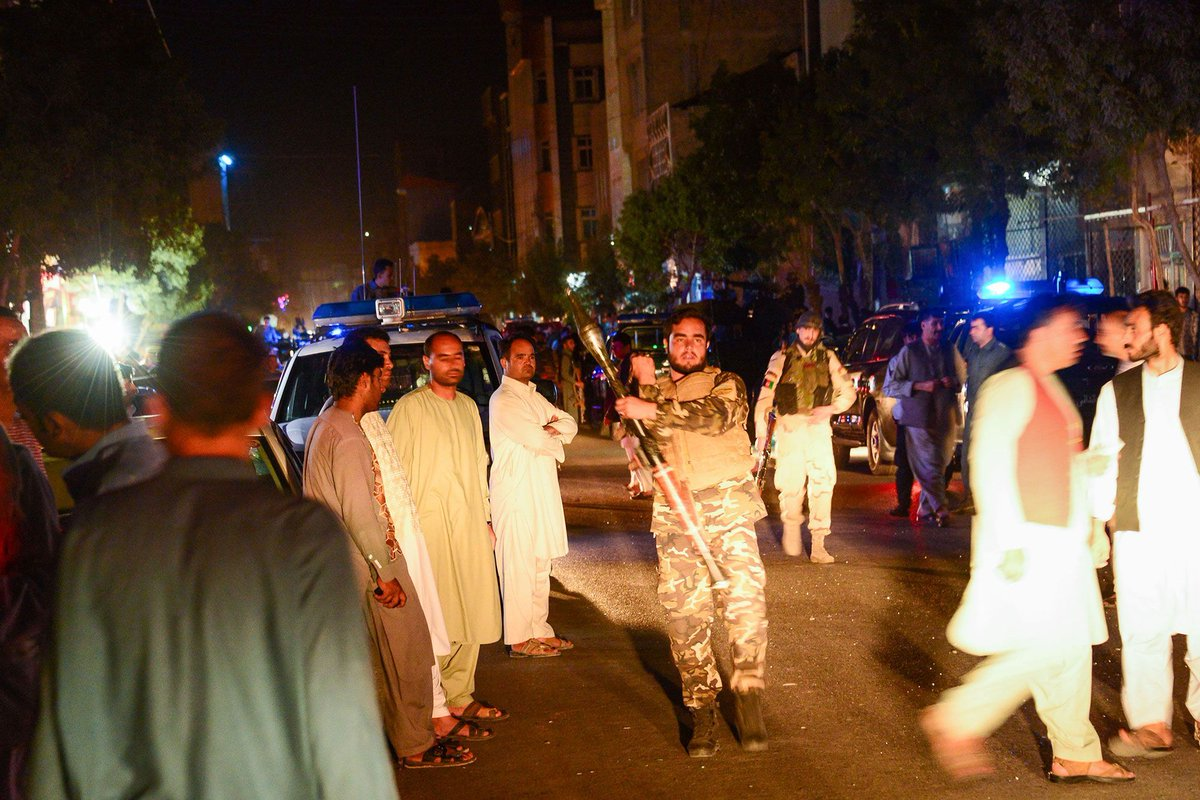 Deadly suicide bombing at Shiite mosque in Herat, Afghanistan