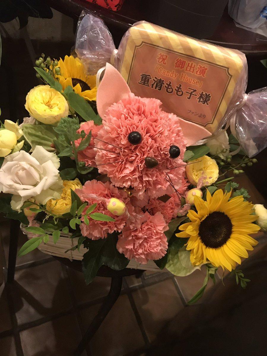 おはようございます♪今日はB班初日です✨がんばれー(*≧∀≦*)お花もいただきまして幸せ❤️にゃー(=^x^=)❤️本当
