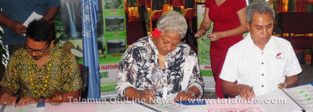US$6 million more injected into Samoa's renewable energy projects