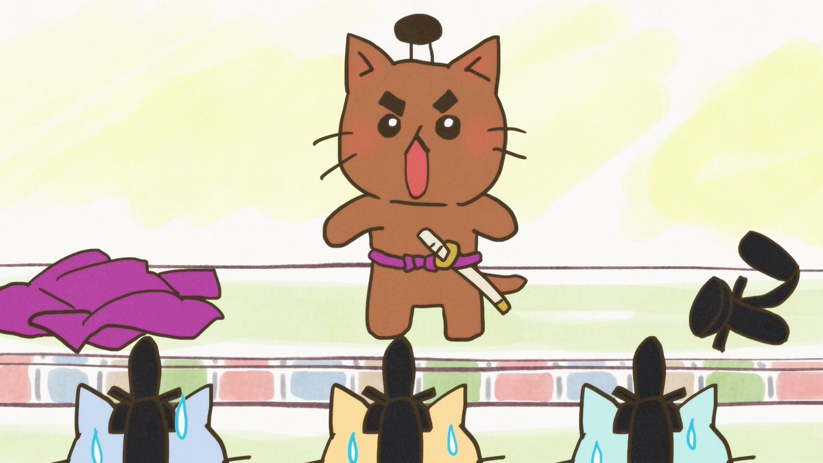いかがでしたかにゃ、贅沢はだめ~にゃはだかン坊ねこでしたにゃね!さて来週は「正直すぎ、石田三成!」のリピート放送になりま