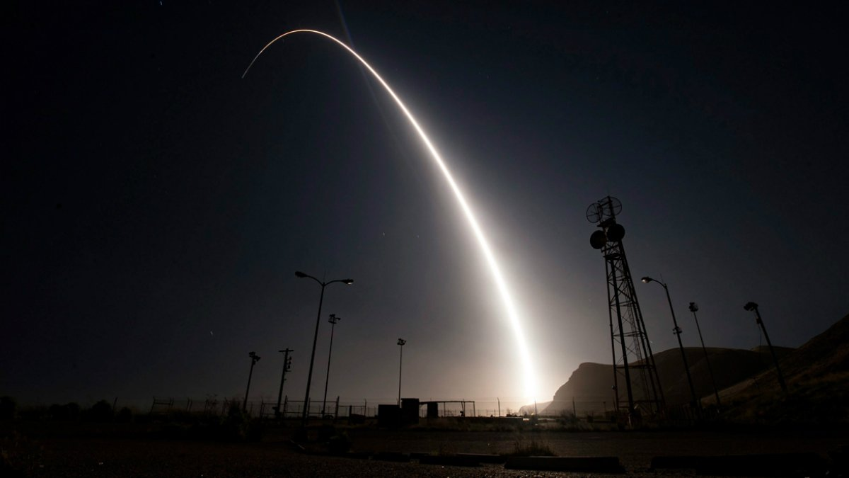 U.S. preps to launch unarmed missile from California