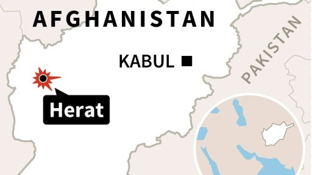 At least 20 killed in Shiite mosque attack in Afghanistan's Herat