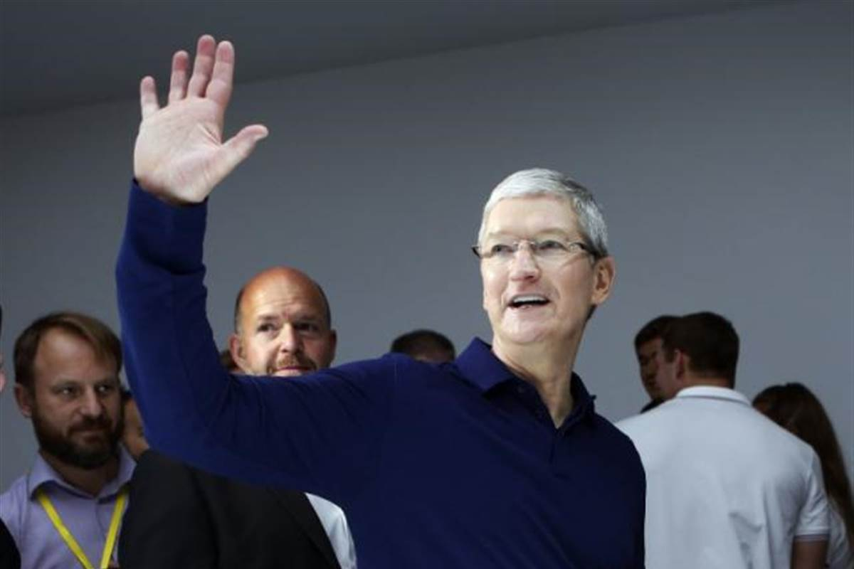 Apple stock soars on strong earnings and iPhone 8 excitement