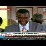 CJ Maraga responds to Jubilee party's petition against Justice Odunga