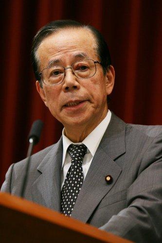 福田元首相といえば、今の我々にとっては福田康夫さんだが、少しお年を召された方たちにとっては、お父さんの福田赳夫さんの方が