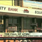 Equity Bank closes 11 ATM lobbies, shifts to mobile, agency banking