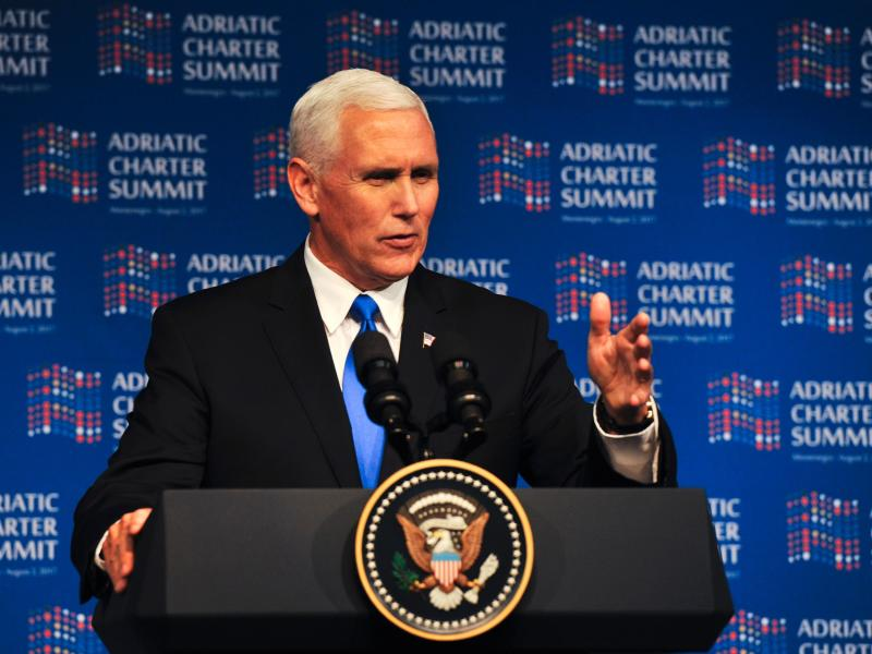 Russia-backed agents tried to kill Montenegro PM: US V-P Mike Pence