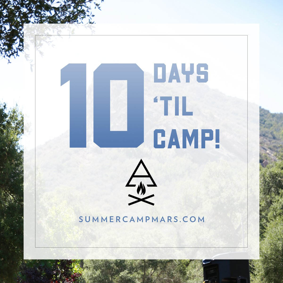 10 DAYS TO GO! COME CHECK OUT OUR MUSIC FESTIVAL: https://t.co/uhdPT2dSE0 #CampMars https://t.co/NeY6HANFrj
