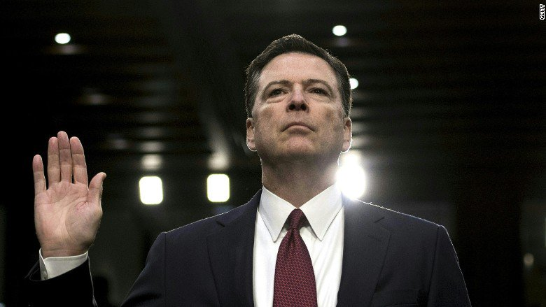 Fired FBI director James Comey inks a book deal