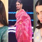 Jab Harry Met Sejal promotions: Anushka Sharma takes the desi route in beautiful saris, kurtas and Indianjewellery