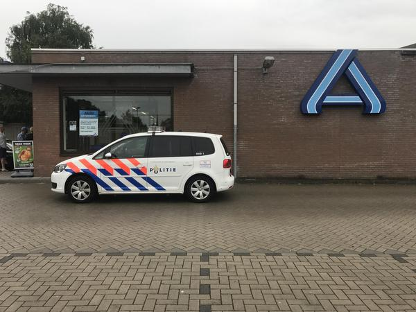 Overval op Aldi in Eindhoven