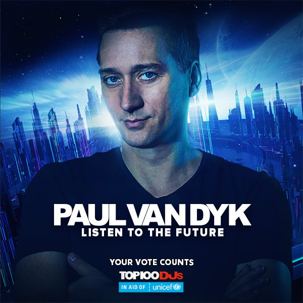 Listen to the future. Vote Trance. #Top100DJs https://t.co/cVpQxkuWgJ https://t.co/tW1m3i5SF3