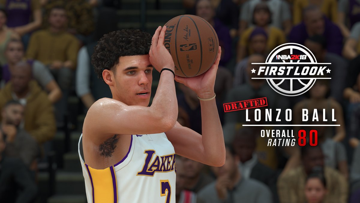 .@ZO2_'s unique jumper will be fully represented in #NBA2K18! #2KFirstLook https://t.co/FgB2MkxXgJ