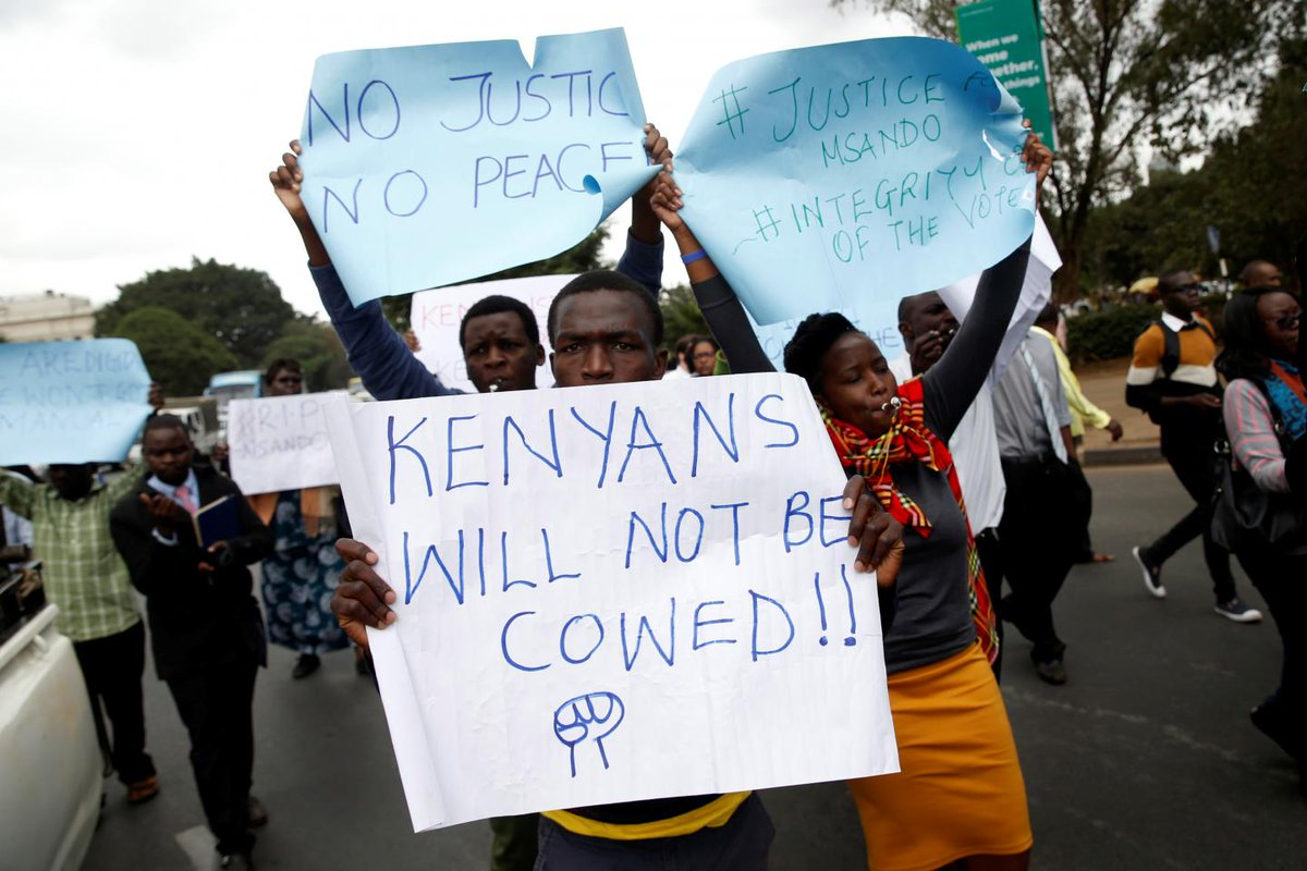 A brutal murder in Kenya highlights why its election matters to the U.S.