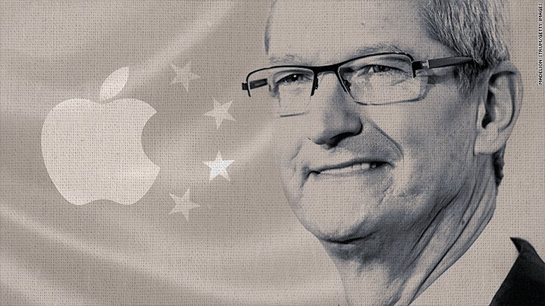 Apple's CEO says he hopes China's intensified crackdown on internet access is only temporary