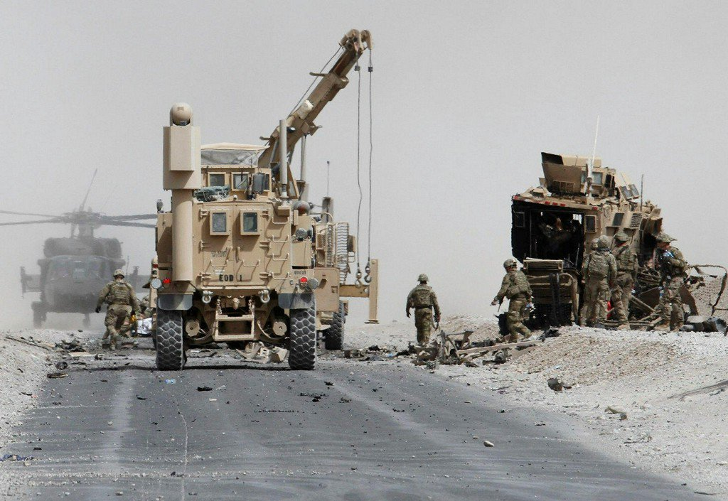 Afghanistan suicide attack kills 2 U.S. service members, Pentagon says
