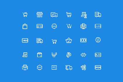 45 Ecommerce Essential Icons Freebies FreeResources FreeDownload