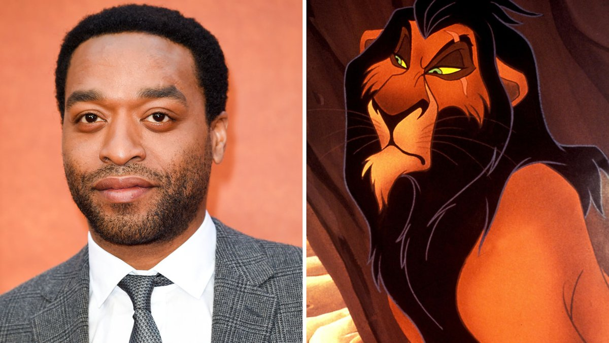 Chiwetel Ejiofor in talks to Voice scar in Disney's