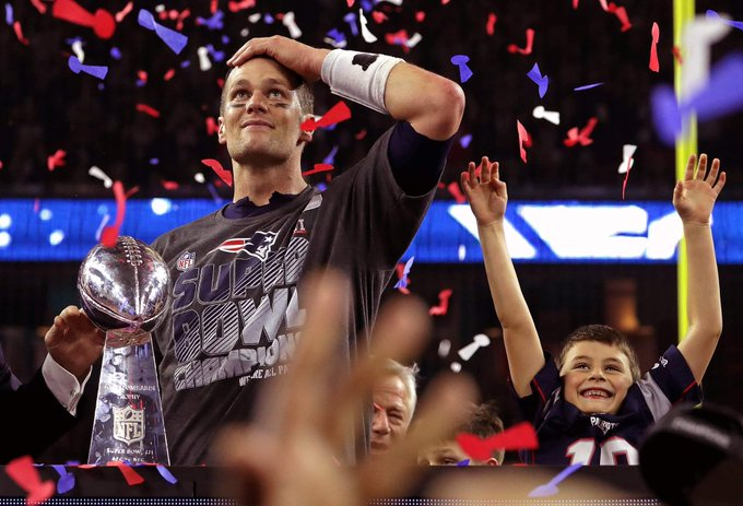 Happy birthday tommy touchdowns! ! Tom Brady, the goat and the living legend.