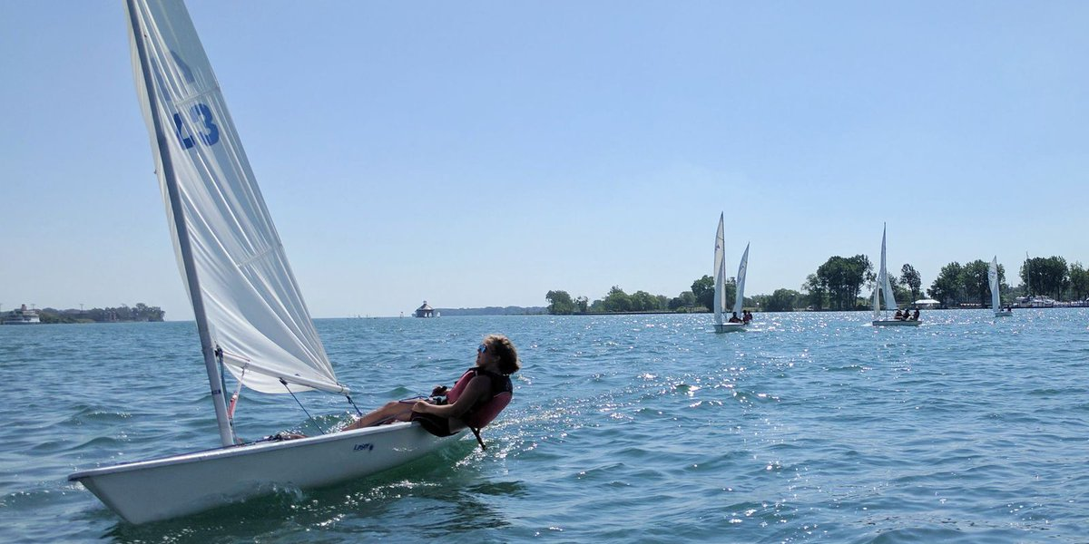 Sailing is a teacher for Detroit students in yacht club program