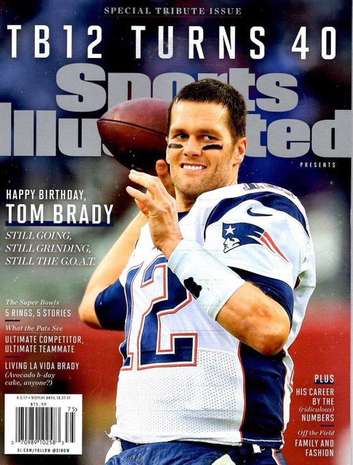 Happy Birthday to the greatest of all time, Tom Brady!