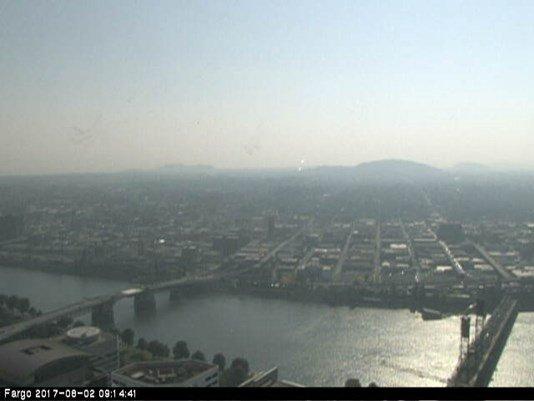 BC wildfire smoke, smog trigger pollution advisory in Portland