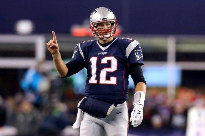 "Happy birthday to Tom Brady, aka \""The"