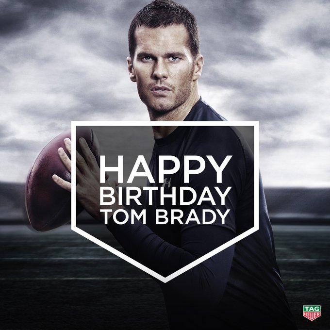 Happy Birthday to the iconic quarterback and our Brand Ambassador Tom Brady!