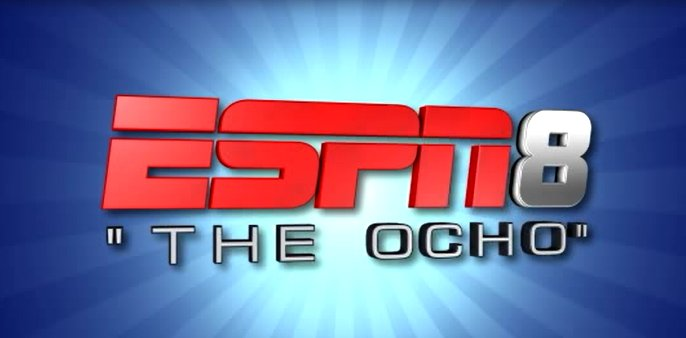 "It's coming..... ESPN8: ""The Ocho'  https://t.co/VuN6qOS17Z https://t.co/jTgplYX4v1"