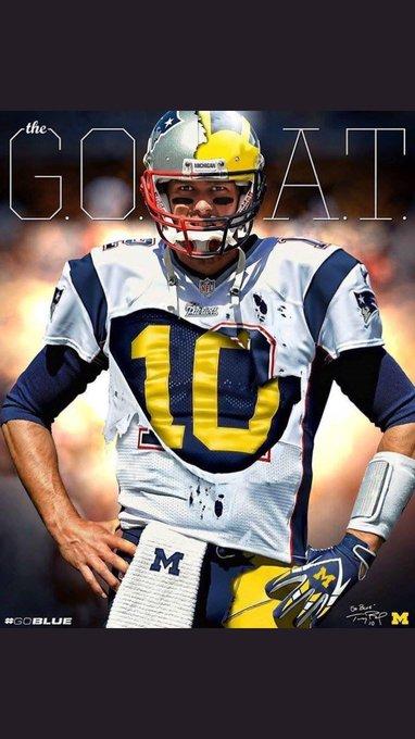 Happy birthday to the G.O.A.T Tom Brady