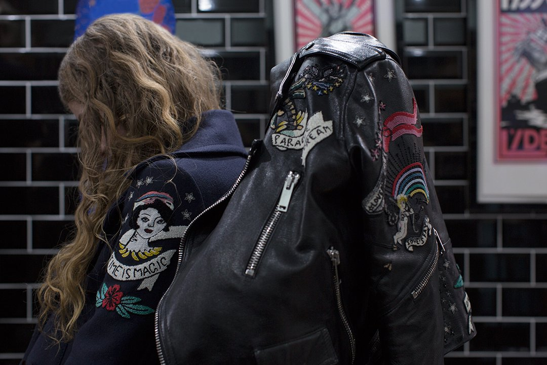 Give the classic perfecto jacket and peacoat a vintage yet fresh allure with elements from the #Tattoo Collection. https://t.co/Wu0R6pSTX3