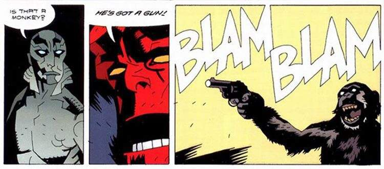 The greatest three panel sequence in American comics. https://t.co/F7H7tNkqZb