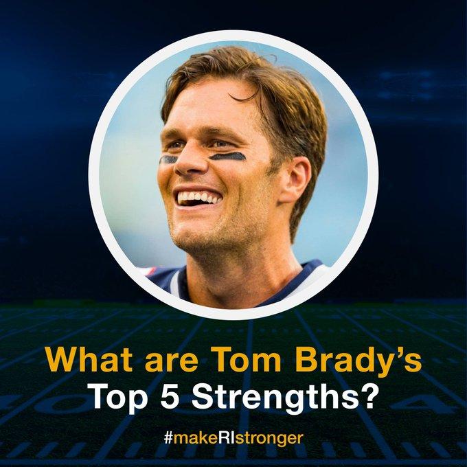 Happy Birthday Tom Brady! What do you think Tom\s top 5 are?