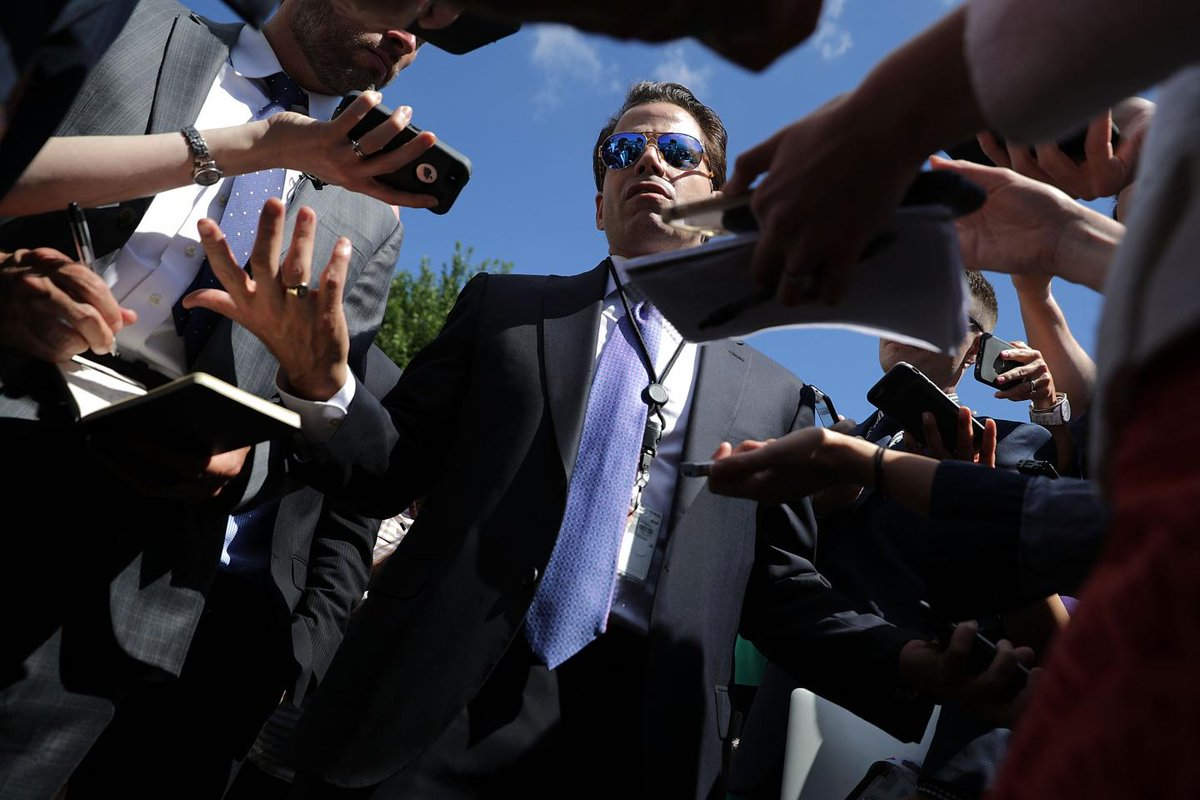 Scaramucci's plan for White House is not so crazy, Obama and Clinton press officials say