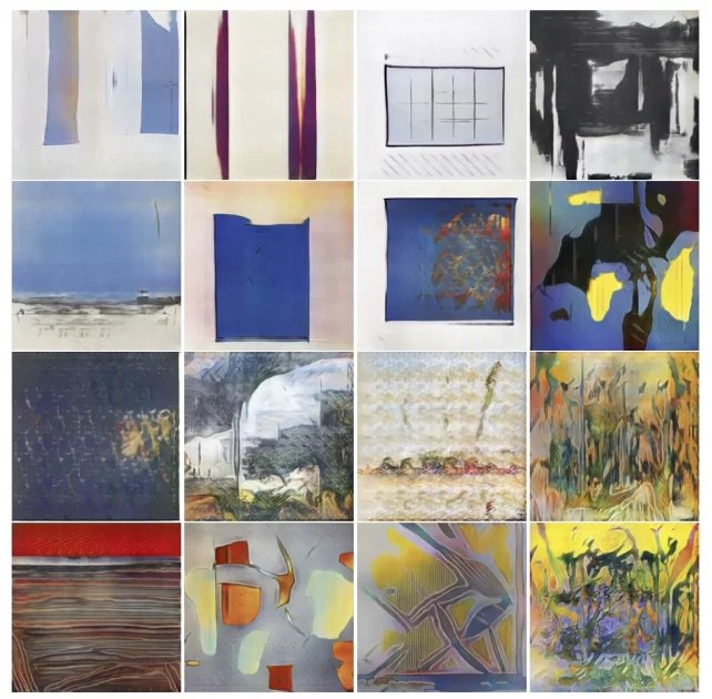 "test Twitter Media - AI network creates art that's rated as more ""intentional, visually structured, communicative, and inspiring"" https://t.co/kftk0mMkiY https://t.co/SyBKhmF1Pe"