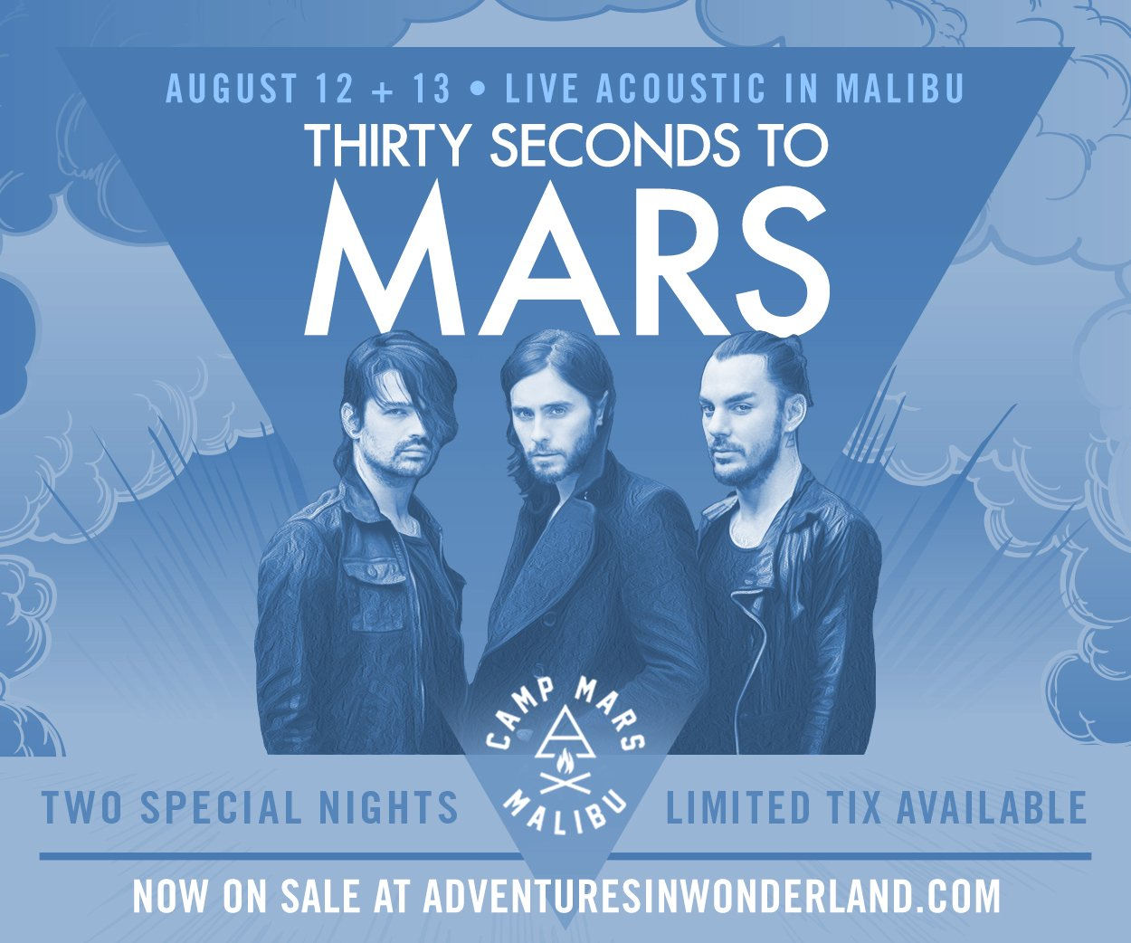 YOU'RE INVITED! MARS in Malibu • August 12 + 13 tix NOW ON SALE. https://t.co/LNUSQNFNzM https://t.co/FM5pCcZkdR